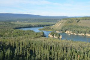 Die Five Finger Rapids des Yukon