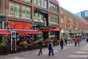 Einkaufs- und Flaniermeile in Ottawa