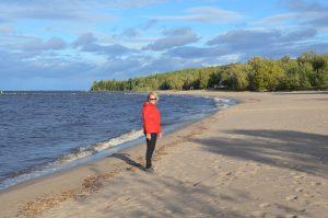 Am Ufer des riesigen Lac-St-Jean