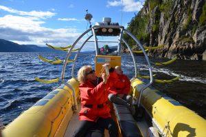 Im Zodiac auf dem Fjord-du-Saguenay unterwegs (4)