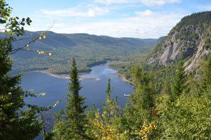 Die Baie Éternité im Parc National du Fjord-du-Saguenay