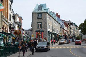 Straßenbild in der Haute-Ville (Oberstadt) von Québec