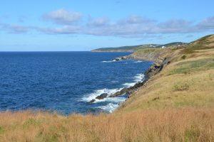 Küste auf Cape Breton Island