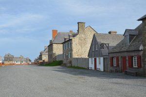 Wohnbereich von Fort Louisbourg (1)