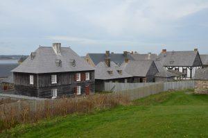 Wohnbereich von Fort Louisbourg (2)