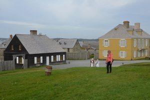 Wohnbereich von Fort Louisbourg (3)