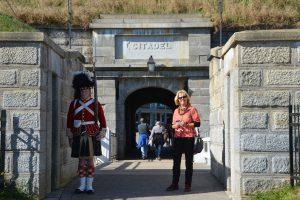 Die Zitadelle von Halifax ist als lebendes Museum aufgezogen, mit Soldaten-Statisten in Uniformen von 1869.