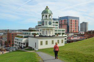 Der Clocktower, das Wahrzeichen von Halifax
